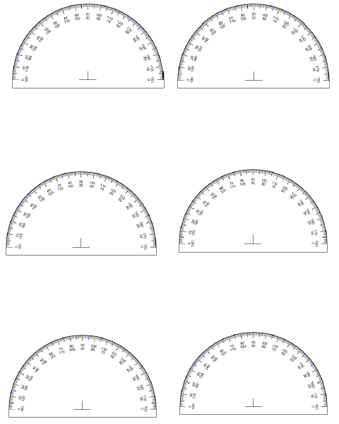Printable protractor pronofoot35fo Gallery