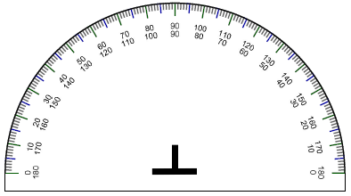 math worksheet : printable protractor : Large Print Math Worksheets